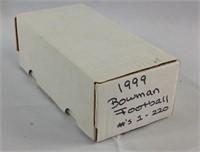 1999 Bowman football cards 1 -220