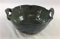 9 inch Sheltons pottery NC bowl