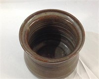 Signed 5 inch pottery Jar