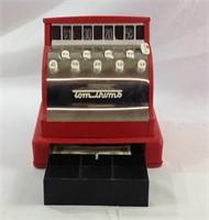 Vintage metal tom Thumb cash register toy