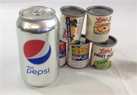 Vintage Libbys canned goods toys play house