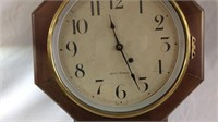 Antique Seth Thomas regulator clock