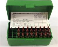 24 rounds of 22–250 ammunition