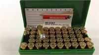 48 Rounds 45 Colt Hollow point ammunition
