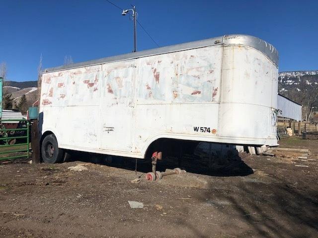 24' Old Bekins Moving Van