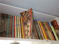 3 SECTIONS OF BOOKS
