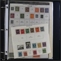 Germany Stamps Mint and Used Collection