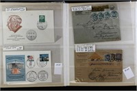 Germany Stamps Covers & Postal Cards CV $650+