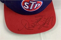 Autographed Richard petty STP hat