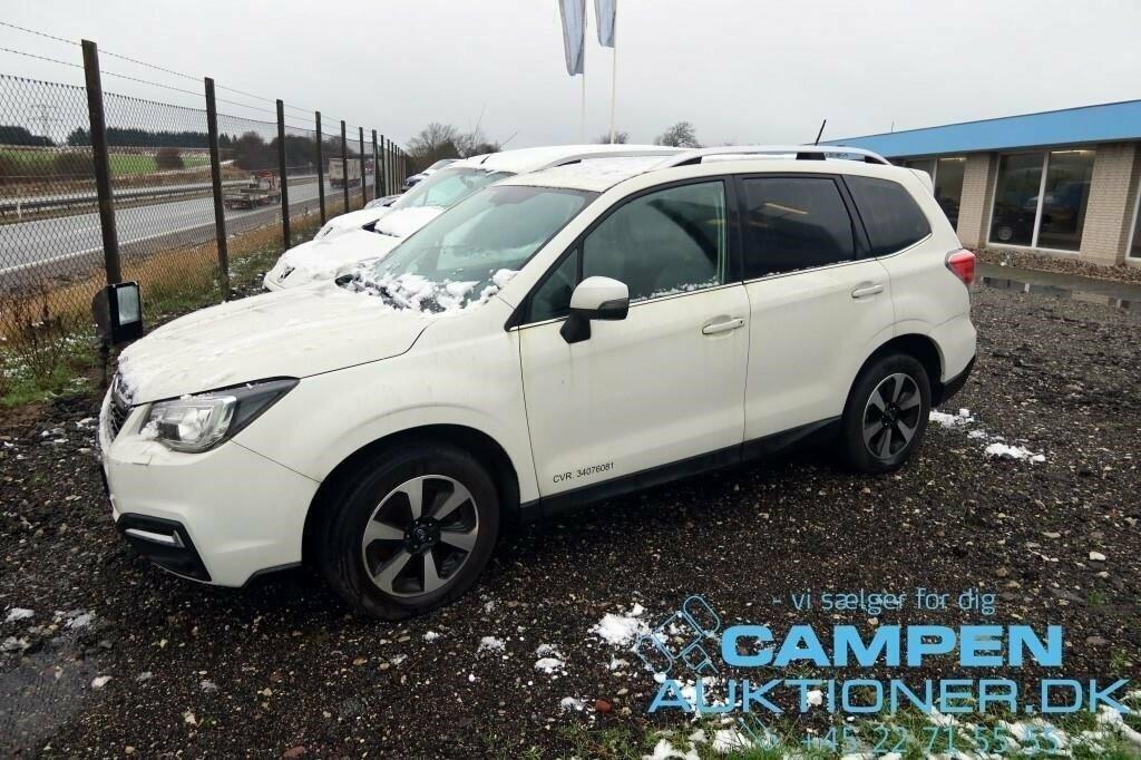 Varevogn bil , Subaru Forester AWD