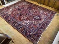 Vintage Handmade Room Sized Rug