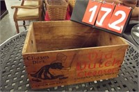WOODEN DUTCH CLEANER ADV CRATE
