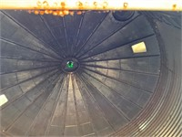 Westeel 5 ring 20' diameter approx 6,000 bu bin