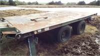 Heavy Duty trailer, Twin axle, 14'x8',