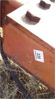 Krause 4260, 60' cultivator, 4 bar harrow,