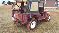 Wiily 1948 CJ2A Jeep, 4x4,