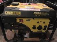 Chanpion 4500 generator, 224cc, 2 years old, pull