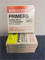 WINCHESTER LARGE RIFLE PRIMERS 500