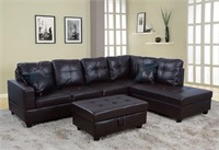 Beverly  Right Facing Sectional Sofa Set