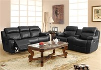 Homelegance Reclining Sofa w/ Center Console