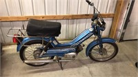 Tomos SP Bullet Moped Manufactured 11/80.  Motor