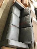 Providence leather match sofa dark gray MSRP $699