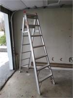 2 Aluminium Ladders / Échelles en aluminium