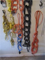 Lot of Extension Cords, Rope / Rallonges et corde