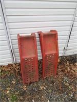 2 Steel Ramps / 2 Rampes en acier