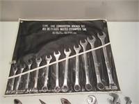 "Combination Wrench Set / Clés mixtes 3/8"" - 1"""