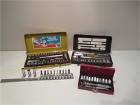 Lot of Socket Sets / Ensembles de douilles