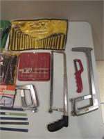 Punches, Chisels, Saws / Poinçons, ciseaux, scies