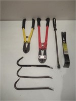 Bolt Cutters, Pry Bars / Coupe-boulons, leviers