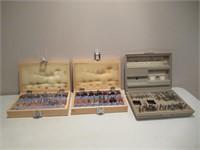 Router Bit Sets / Ensemble de fers de toupie