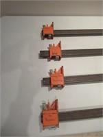 "4 Jorgensen Bar Clamps/ Serre-joints coulisse -48"""