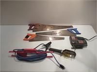 Saws & Worklight / Scies & lampe de travail