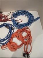 Lot of Extension Cords / Lot de rallonges