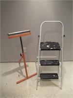 Step Ladder & Roller / Escabeau et rouleau