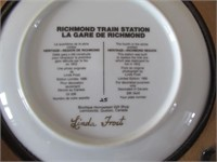 4 Collector Plates/Assiettes collection - Richmond