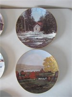 Collector Plates/ Assiettes collection - Townships