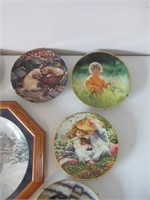 10 Collector Plates / Assiettes de collection