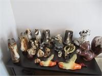 Ceramic Knick Kancks / Décoration céramique