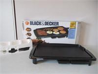 Black & Decker Electric Griddle / Poêle électrique