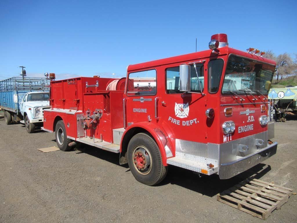1974 American LaFrance Fire Engine