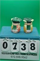 Vegetables salt & pepper shakers