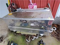 LARGE TOOL BOX WITH DIESEL TANK/ PUMP