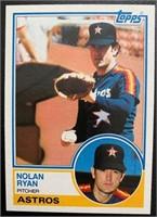 Nolan Ryan 1983 Topps vintage baseball card