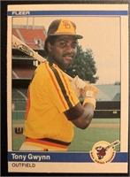Tony Gwynn 1984 Fleer vintage baseball card