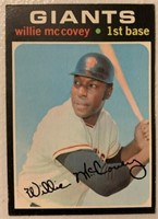 Willie McCovey 1971 Topps vintage baseball card