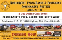 2021 NorthWest Farm / Ranch And Construction Day 2 Auction